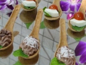 Edible Spoon Catered Dish