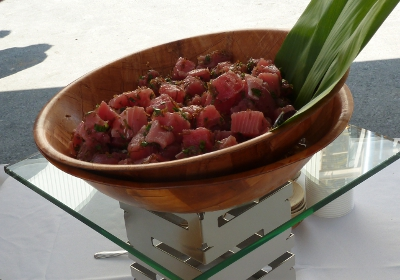 Ahi Poke From Kama'aina Catering